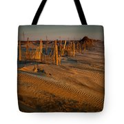 Dune Erosion Fence Outer Banks Nc Img3748 Tote Bag