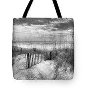 Dune Fences Tote Bag