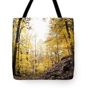 Dune Land Forest Tote Bag
