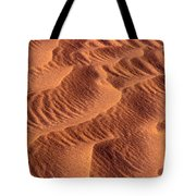 Dune Patterns - 242 Tote Bag by Paul W Faust -  Impressions of Light