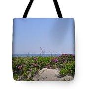 Dune Roses Tote Bag