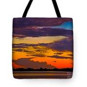 Dunedin Causeway Sunset Tote Bag