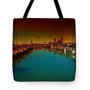 Dunedin Marina Tote Bag