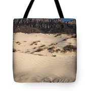 Dunes At The Guadalupes Tote Bag