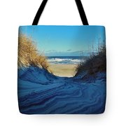 Dunes Sand Art By Mother Nature 2/08 Tote Bag
