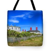 Dungeness Lighthouse Quarters Tote Bag