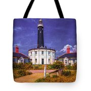 Dungeness Old Lighthouse Tote Bag