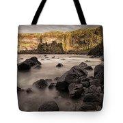 Dunluce Castle Shadow Tote Bag
