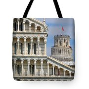 Duomo And Campanile Tote Bag