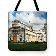 Duomo Of Field Of Dreams Tote Bag