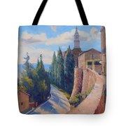 Duomo Pienza Tote Bag