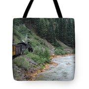 Durango To Silverton Railroad Tote Bag