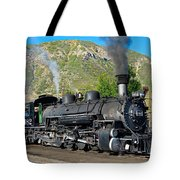 Durango To Silverton Train Tote Bag