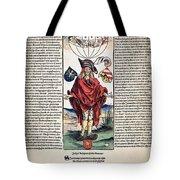 Durer: Syphilitic, 1496 Tote Bag