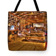 Durhamtown Redneck Bar Art Tote Bag