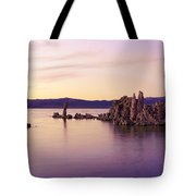 Dusk At Mono Lake Tote Bag
