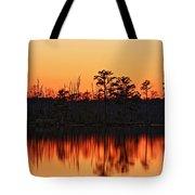 Dusk At Pocosin Lakes Tote Bag