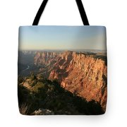 Dusk At The Canyon Tote Bag