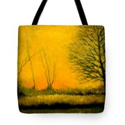Dusk At The Refuge Tote Bag