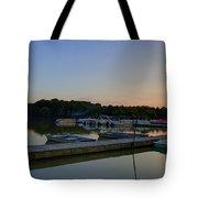 Dusk Dock 20140718 Tote Bag