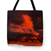 Dusk Falls On The Canyon Tote Bag