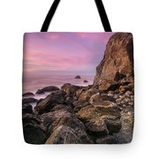 Dusk Falls Over Patrick's Point Tote Bag