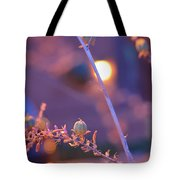 Dusk Flowers Tote Bag