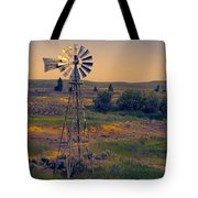 Dusk On The Prairie Tote Bag