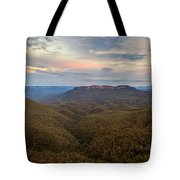 Dusk Over Mount Solitary Tote Bag