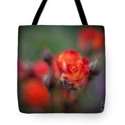 Dusk Romantic Rose Tote Bag