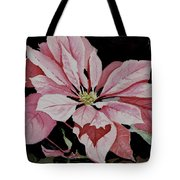 Dustie's Poinsettia Tote Bag