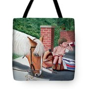Dustin And Koti Tote Bag
