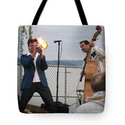 Dusty 45 On Fire Tote Bag