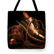 Dusty Dancing Shoes Tote Bag