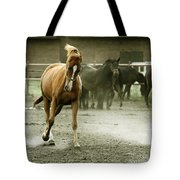 Dusty Paddock Tote Bag