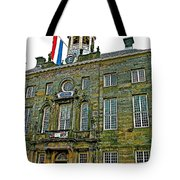 Dutch Architecture Of The Golden Age For Town Hall In Enkhuizen- Tote Bag
