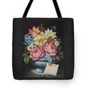 Dutch Flowers Tote Bag