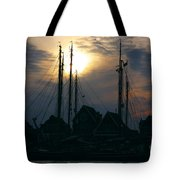 Dutch Harbour By Night Tote Bag