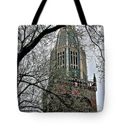 Dutch Reformed Church Tower In Enkhuizen-netherlands Tote Bag