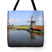 Dutch Windmills Tote Bag