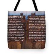 Dutchman's Inn Tote Bag
