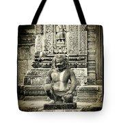 Dvarapala At Banteay Srey Tote Bag