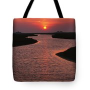 Dwelling Mounds In The Wadden Sea Tote Bag
