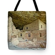 Dwellings In Spruce Tree House On Chapin Mesa In Mesa Verde National Park-colorado  Tote Bag