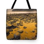 D.wiggett Rocks On Beach, China Beach Tote Bag by First Light