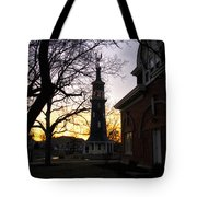 Dwight Windmill At Sunset Tote Bag