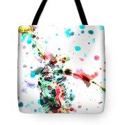 Dwyane Wade Tote Bag by Brian Reaves