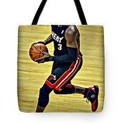 Dwyane Wade Portrait Tote Bag