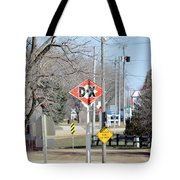 Dx Gas Sign Tote Bag