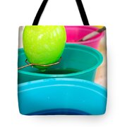 Dying Easter Eggs Tote Bag